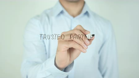 партнеры : Trusted partner, Writing On Transparent Screen