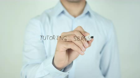 özel öğretmen : Tutoring Service, Writing On Transparent Screen