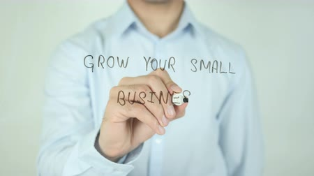 seu : Grow Your Small Business, Writing On Transparent Screen