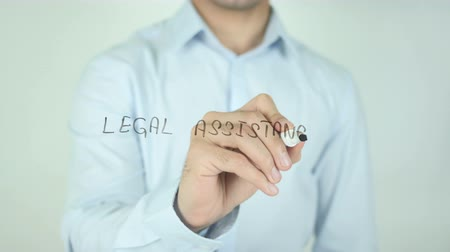 legal : Legal assistance, Writing on Screen
