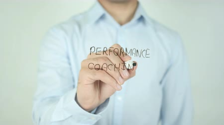 подготовке : Performance coaching, Writing On Transparent Screen
