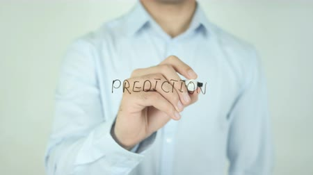 predição : Prediction, Writing On Transparent Screen