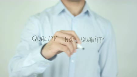 продукты : Quality not Quantity, Writing On Transparent Screen