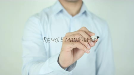 żródło : Remote Management, Writing On Transparent Screen Wideo