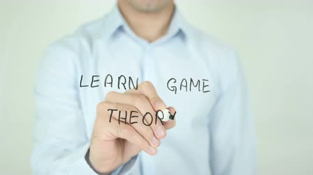 dobbelstenen : Leer Game Theory Stockvideo