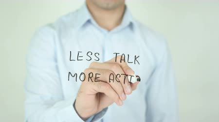 mais : Less Talk More Action, Writing on Screen