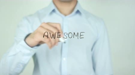excelência : Awesome, Writing on Screen