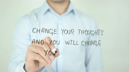 mudança : Change Your Thoughts and you will Change your World