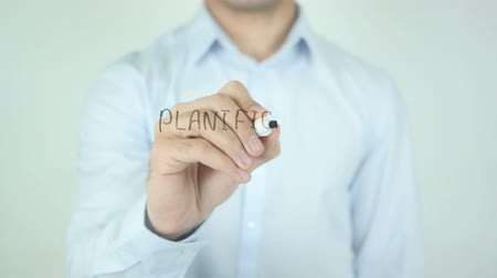 criar : Planification Successorale, Estate Planning writing in French on Glass