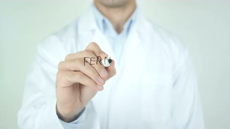 зубы : fermare il cancro, Stop Cancer, Writing in Italian on Transparent Glass