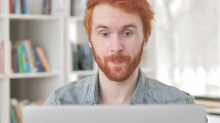 distante : Online Video Chat by Casual Redhead Man