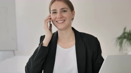 discar : Phone Businesswoman by Young Businesswoman, Negotiation
