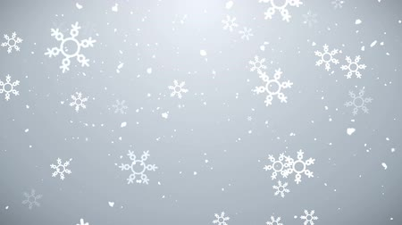 Clean Christmas Background, Looped Stok Video