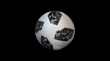 league : Soccer ball with alpha, looped