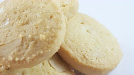 барахло : Cookies rotate on white background