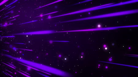 VJ dancing lights glow abstract background looped. Stockvideo