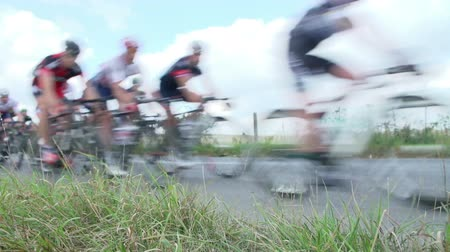 cycle : Abstract View Of Competitors In Cycle Race