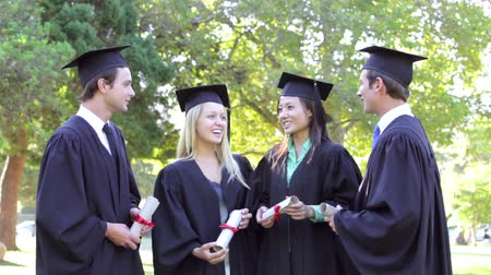 promoce : Group Of Students Attending Graduation Ceremony