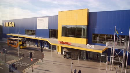 ikea : Exterior Of Ikea Store In Reading England