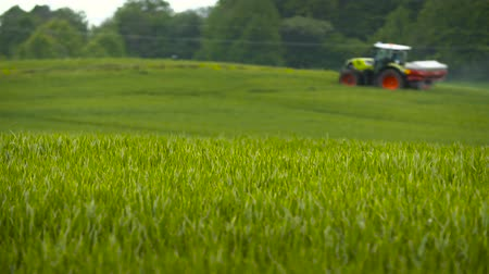 carcinogenic : Farming. Agriculture background. Stock Footage