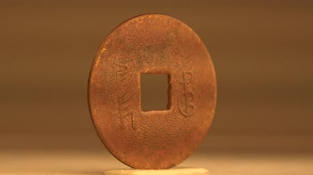 corporativa : Ancient Chinese Coinage These coins with square holes are the earliest produced coins in China.