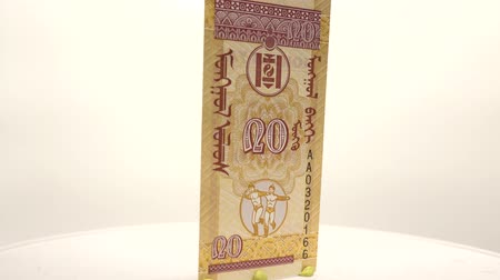 yirmi : Real 20 Mongogolian Money This is a real banknote called the 20 mongo locally.
