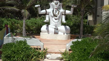 ganesha : A statue of the Hindu god Ganesha also known as Ganapati and Vinayaka.