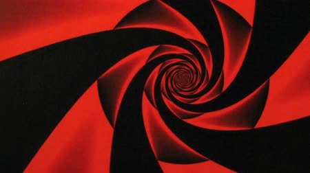 sedative : Valentines Day Red Rose Design Swirl Animation Background . Perfect seamless loop background and special effect psychoactive footage in full color of rotational design and pattern that create a spinning optical illusion vortex that can have mesmerising hy