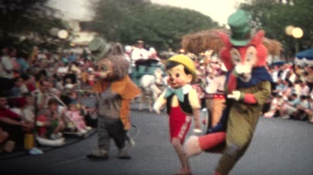 archívum : 8mm Vintage 1968 Mickey Mouse Disney Parade