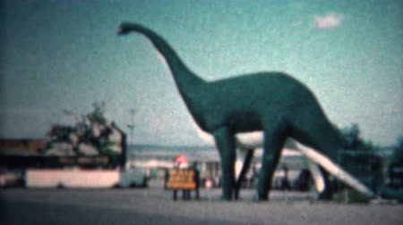 régi : 8mm Vintage 1966 Dinosaur Park Black Hills North Dakota