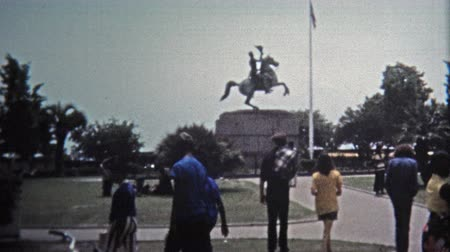 valóság : 1971: Classic tourist spots around the French Quarter.