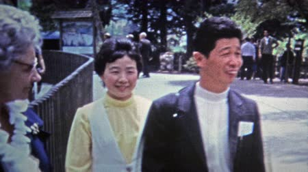 archívum : Okayama, JAPAN 1972: Westerners visiting Japanese pen pals overseas.