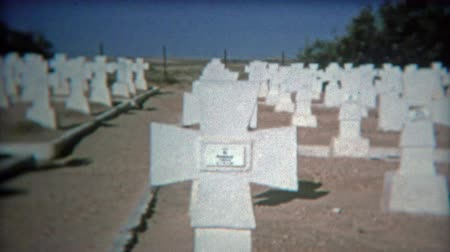 TUNIS, TUNISIA 1972: German military cemetary in El M Dou Tunisia