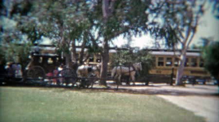 BUENA PARK, CALIFORNIA 1953: Knotts Berry Farm Indian Village amusement park.