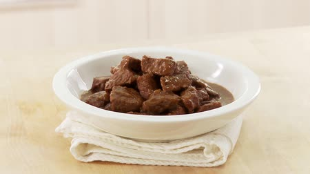 outlinable : Beef goulash Stock Footage