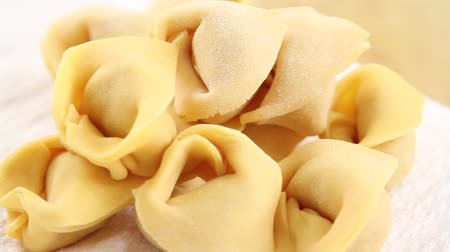 value clips : Fresh tortellini Stock Footage