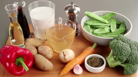 pastas : Ingredients for vegetable curry