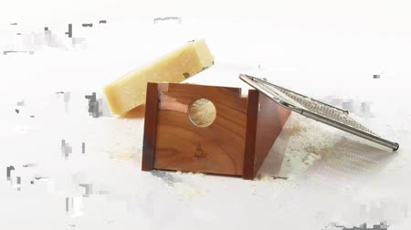 outlinable : Parmesan with cheese grater