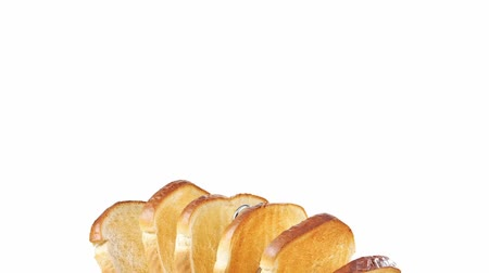 outlinable : Slices of toast in toast rack