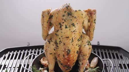 poulet : Grilled herb chicken