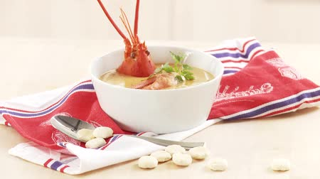 specialties : Cream of lobster soup