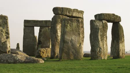 kolumna : Medium shot of Stonehenge Wideo