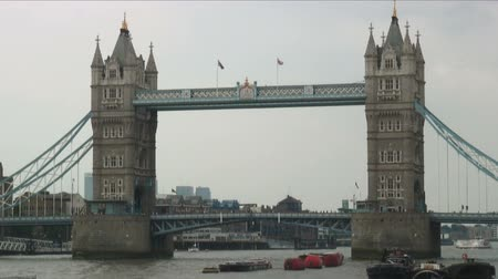pomost : Shot of the Tower Bridge Wideo