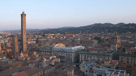 bolognai : Wide shot of ancient cityscape
