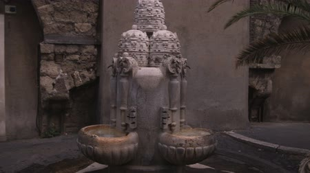 vatikan : A shot of a fountain outside the Vatican in Rome.