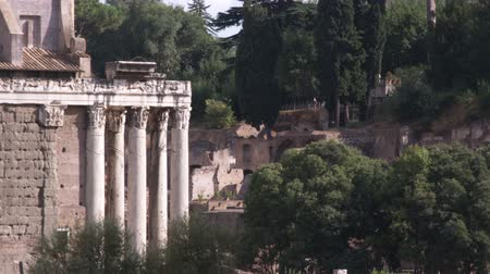 pro government : A shot of some ruins in Rome Italy.