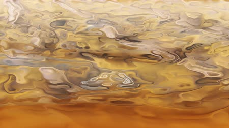 âmbar : A computer generated surface of an amber metallic surface.