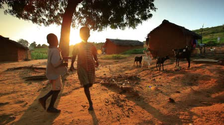 samburu : Kids near a village in Kenya two hours north of the African city Mombassa.