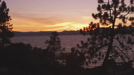 ostrovy : Static shot of Emerald Bay at Lake Tahoe,California,taken from across the bay