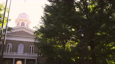 вводить : Panning shot of Carson City Capitol building. Filmed during the day on September 21,2012